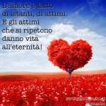 frasi d'amore: l'amore è fatto d'istanti