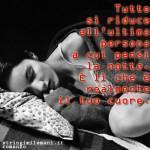 frasi d'amore: tutto si riduce all'ultima persona che pensi prima di...